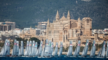 47 Trofeo Princesa Sofia IBEROSTAR, bay of Palma, Mallorca, Spain, takes place from 25th March to 2nd April 2016. Qualifier event for the Rio 2016 Olympic Games. Almost 800 boats and over 1.000 sailors from to 65 nations ©Pedro Martinez/Sailing Energy/Trofeo Sofia