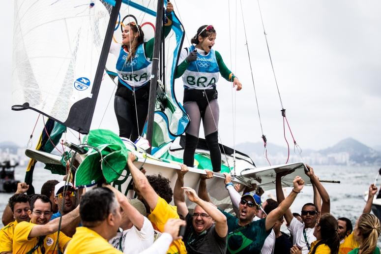 The Rio 2016 Olympic Sailing Competition features 380 athletes from 66 nations, in 274 boats racing across ten Olympic disciplines. Racing runs from Monday 8 August through to Thursday 18 August 2016 with 217 male and 163 female sailors racing out of Marina da Gloria in Rio de Janeiro, Brazil. Sailing made its Olympic debut in 1900 and has been a mainstay at every Olympic Games since 1908. For more information or requests please contact Daniel Smith at World Sailing on marketing@sailing.org or phone +44 (0) 7771 542 131.