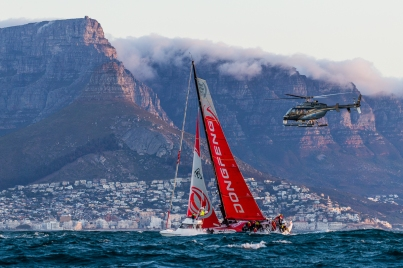Leg 2. Arrivals from Lisbon to Cape Town. Photo by Pedro Martinez/Volvo Ocean Race. 24 November, 2017.