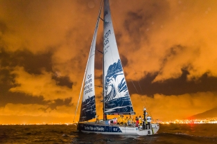 Arrivals from Lisbon to Cape Town. Photo by Pedro Martinez/Volvo Ocean Race. 25 November, 2017.