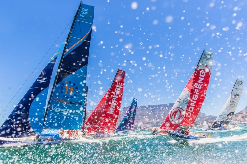Cape Town Stopover. Photo by Pedro Martinez/Volvo Ocean Race. 10 December, 2017.
