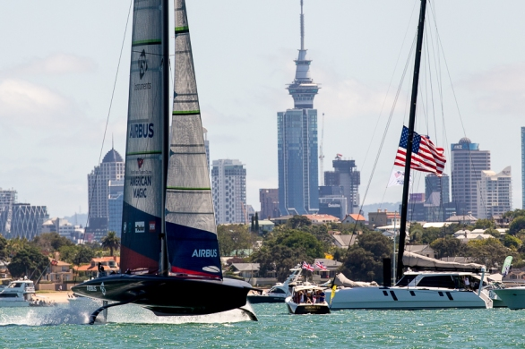 NYYC American Magic, 36th America's Cup. 15 January, 2021 © Sailing Energy / American Magic